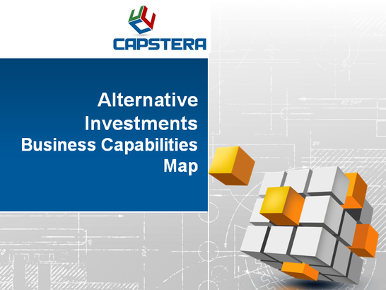 Alternative Investments Business Capability Map