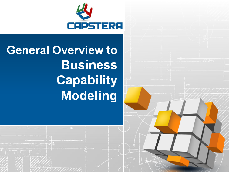 Business Capability Modeling Overview