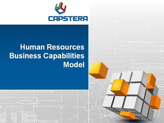 Human Resources Business Capabilities Map