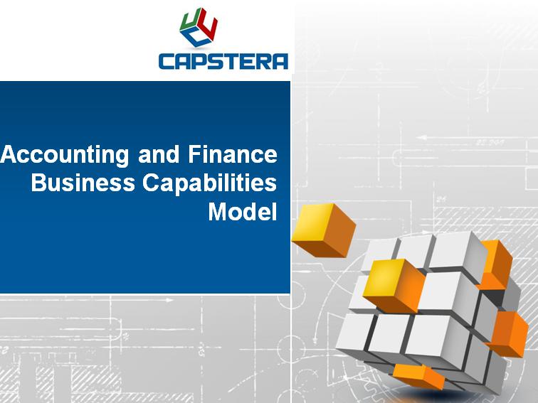 Finance Business Capabilities Map
