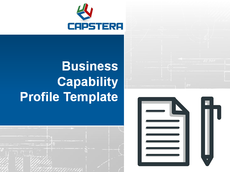 business capability map template - business capabilities profile template capture details