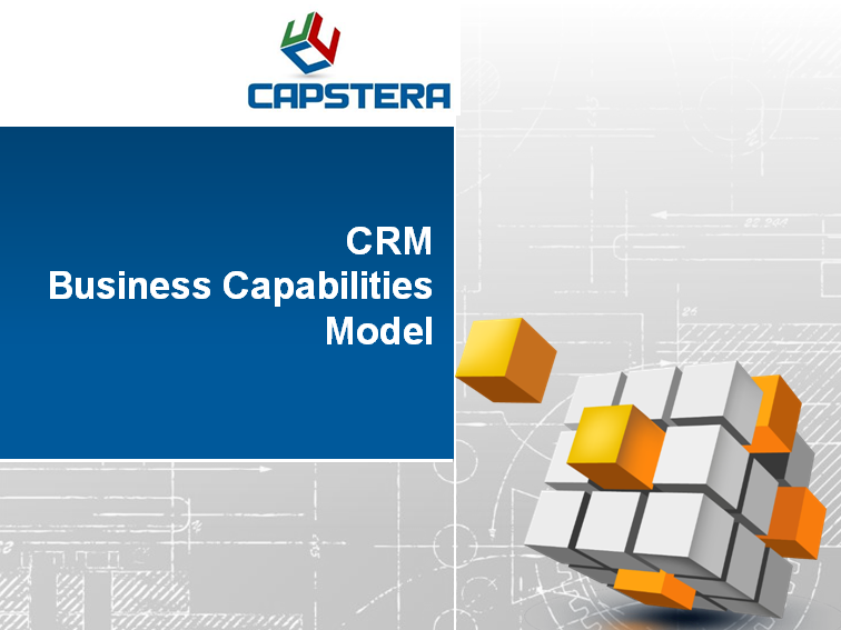 CRM Business Capabilities Map