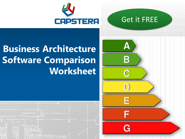 Business Architecture Software Comparison Worksheet