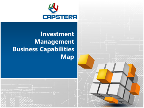 Investment Management Business Capabilities Map