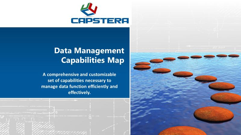 Data Management Capabilities Map